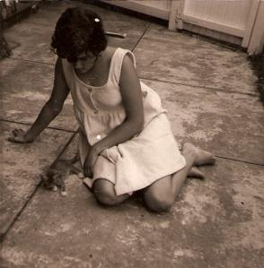023 Irene & kitten 1969