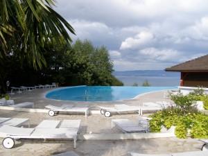 the infinity edge outdoor pool ©irene waters 2013