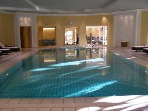 the indoor pool ©irene waters 2013