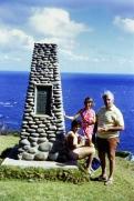 © irene waters 2015 Annie, Dad & me Norfolk Island