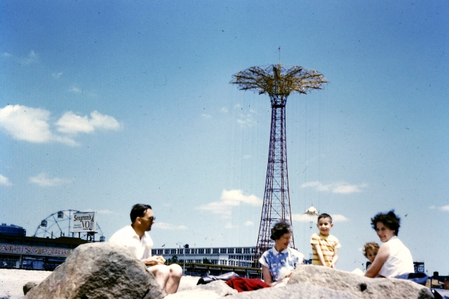1958.36 Coney Island with Lawtons