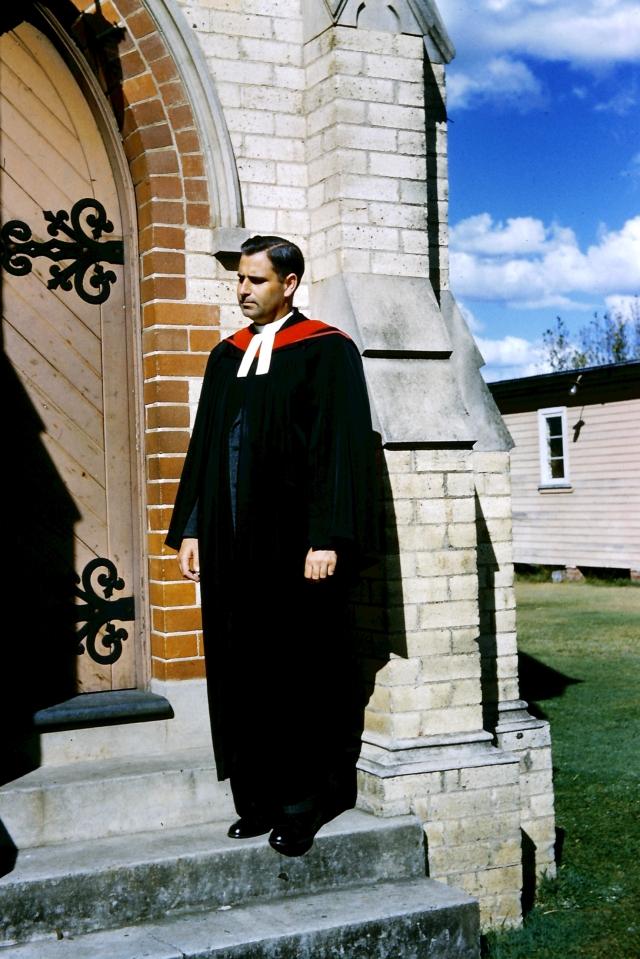1959.13 Jim at Church Door
