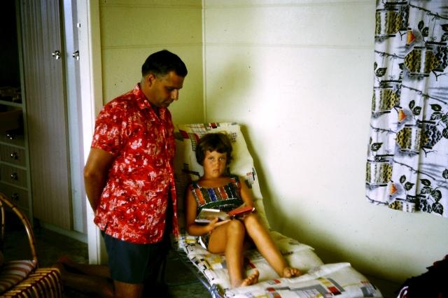 1964.6 Jim,Irene in flat