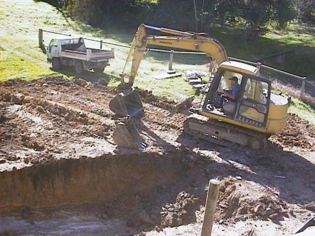 58.excavating the  pool