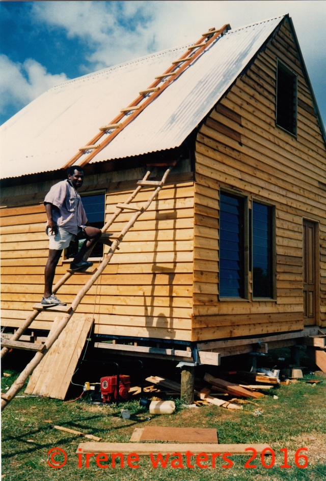 ladders house Vanuatu