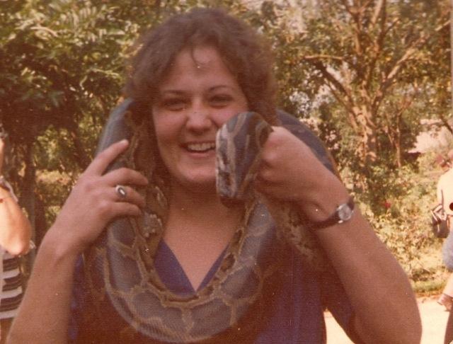 0009 Irene with snake