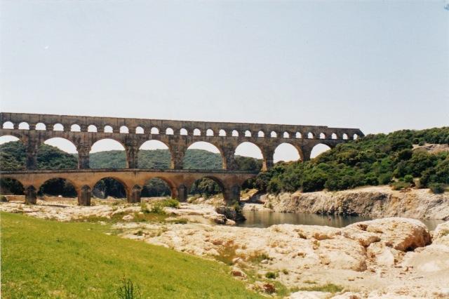 Pont du Gard - roman aqueduct